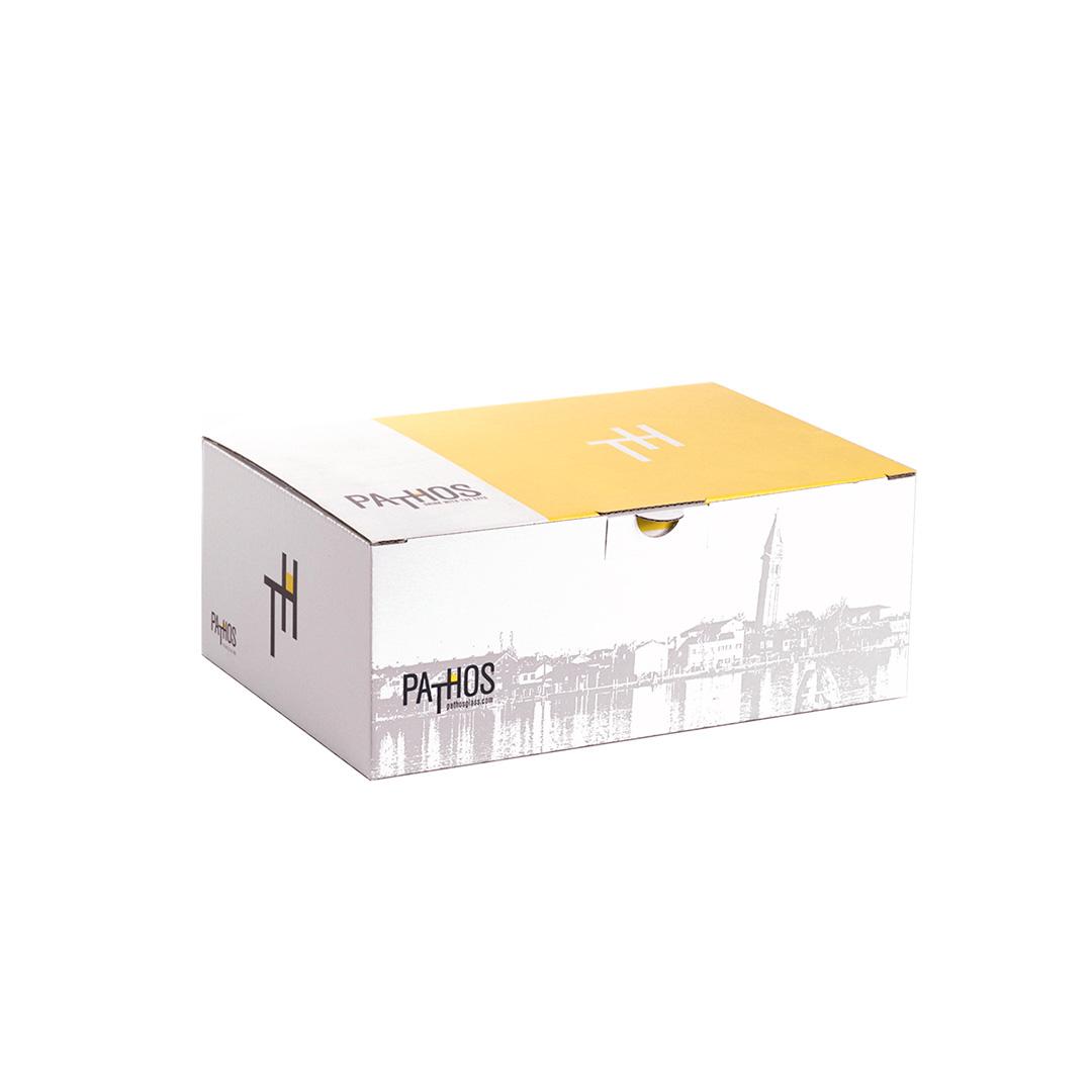 scatola fustellata con stampa personalizzata