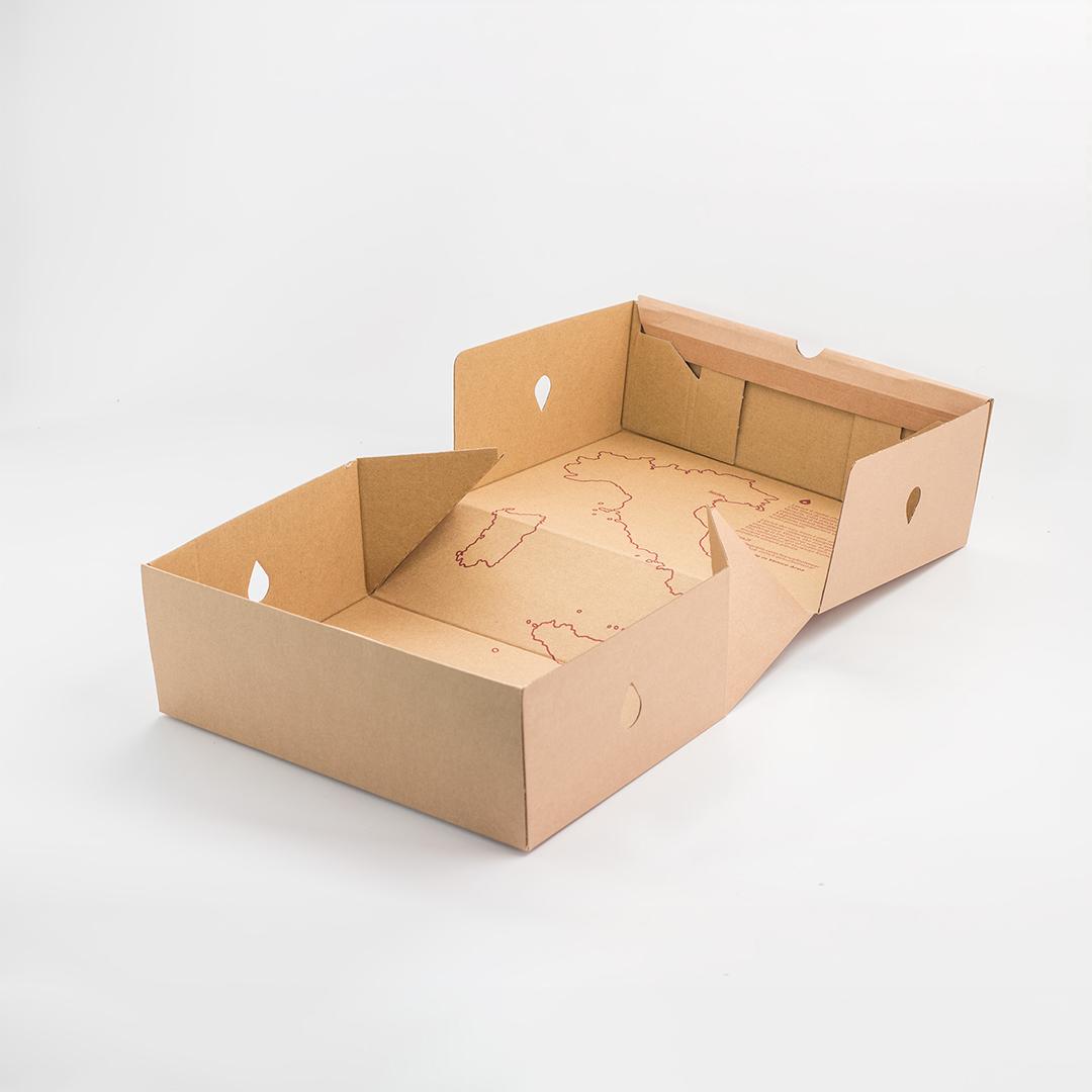 scatola per scarpe personalizzata