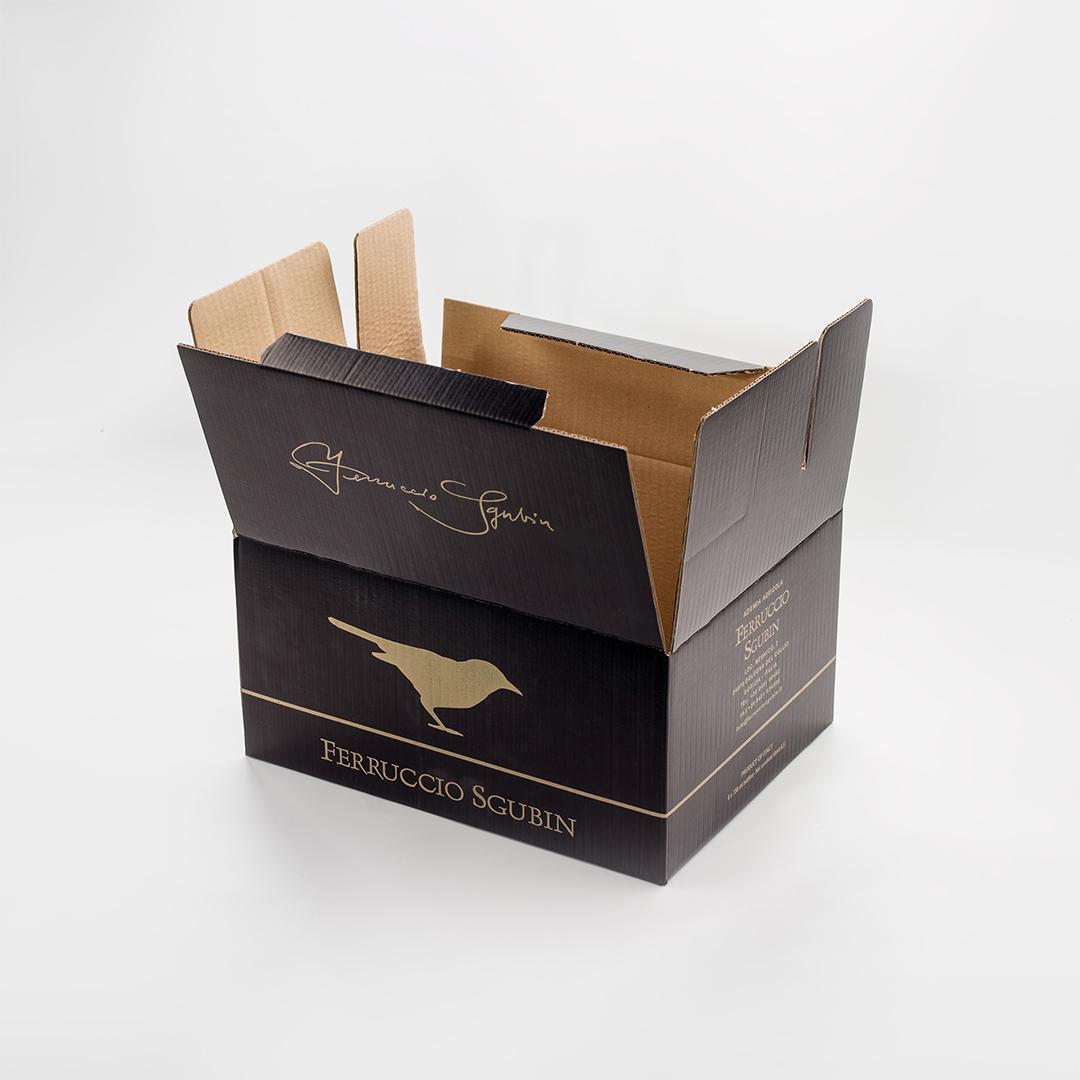 scatola personalizzata per vino