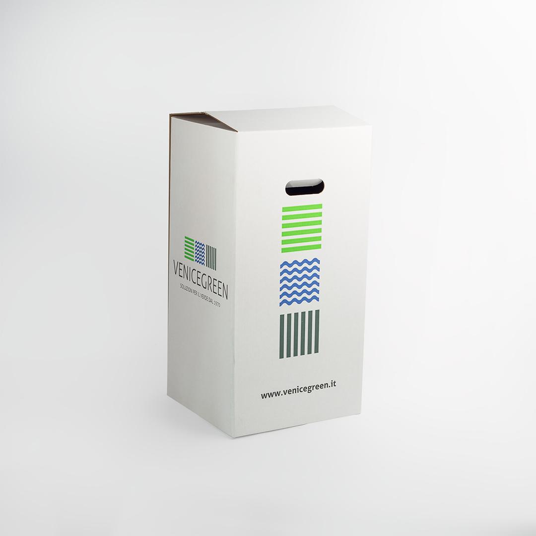 scatola fustellata per piante