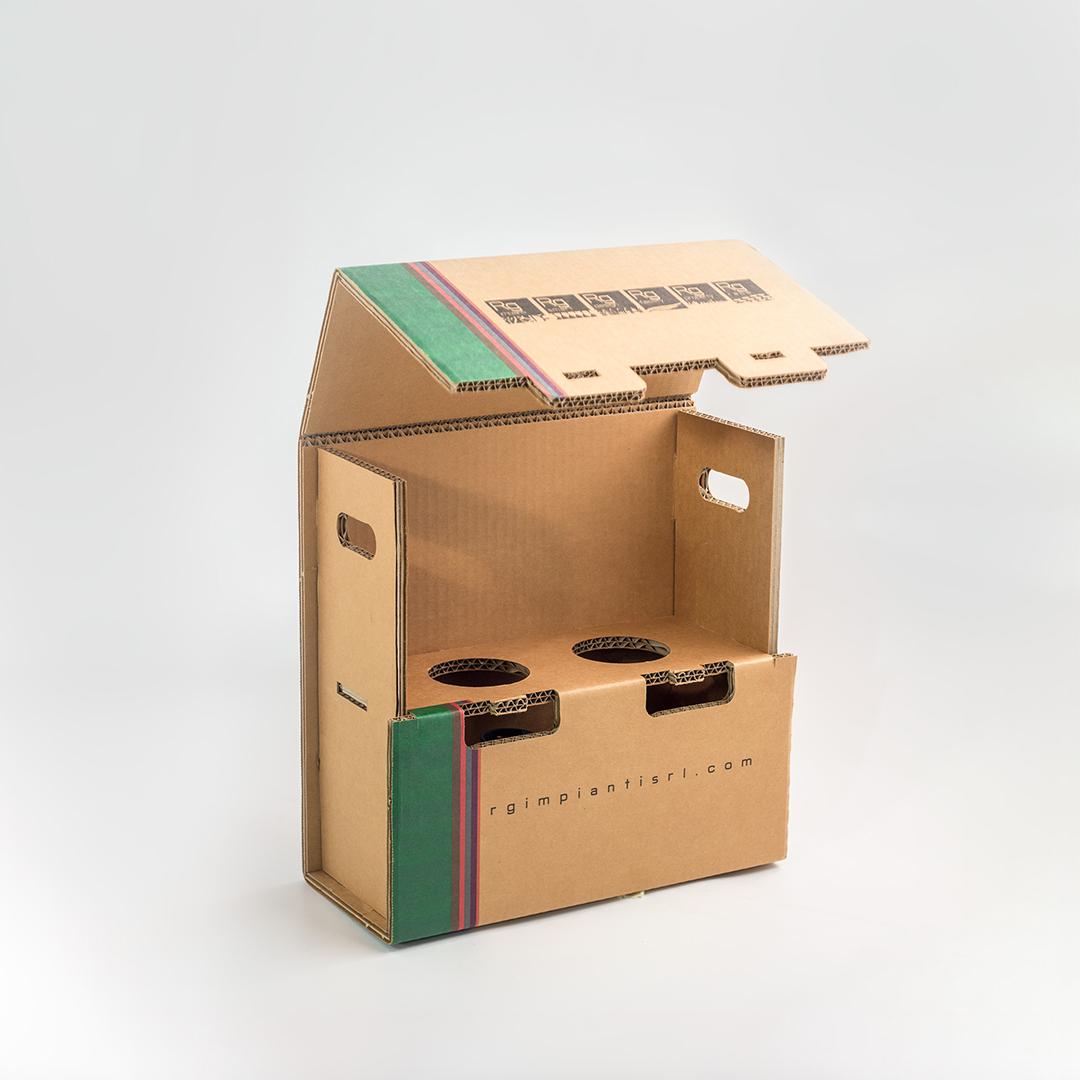 Scatola tripla onda per imballaggi pesanti