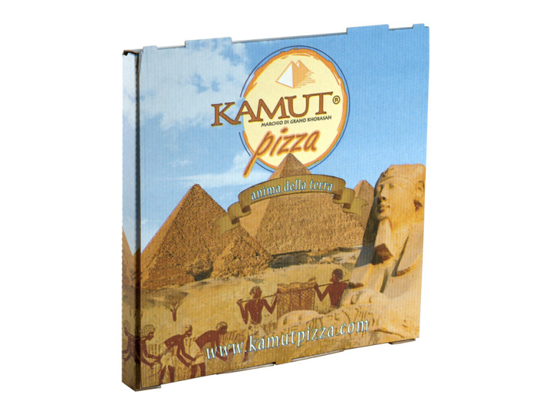 Scatola per pizza personalizzata Kamut