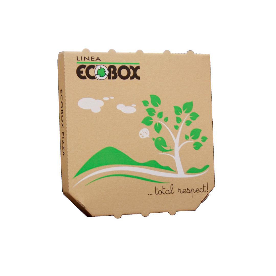 Scatola per Pizza Modello TV Tipo ECOBOX