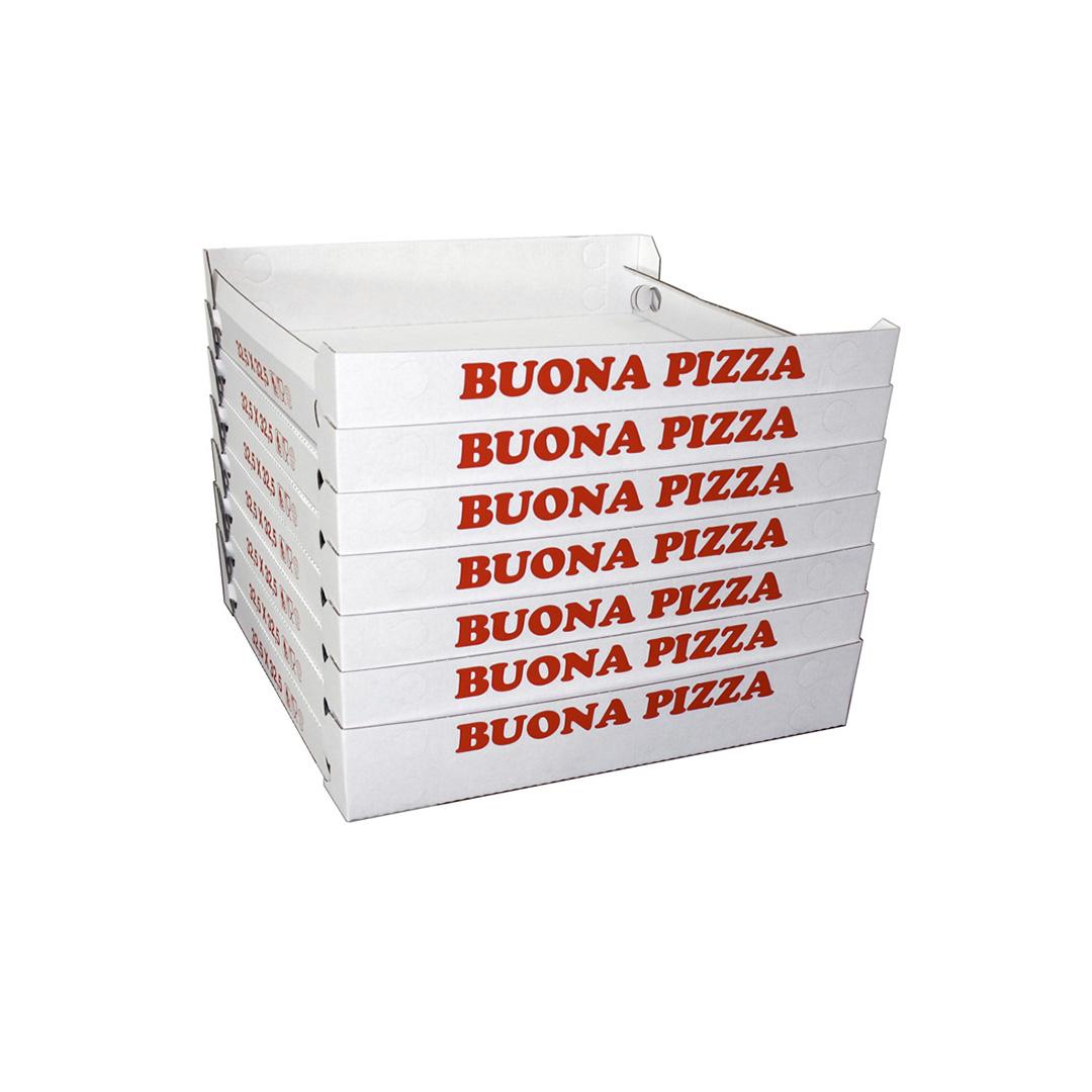 """Scatole impilabili per pizza modello """"Cubo"""""""
