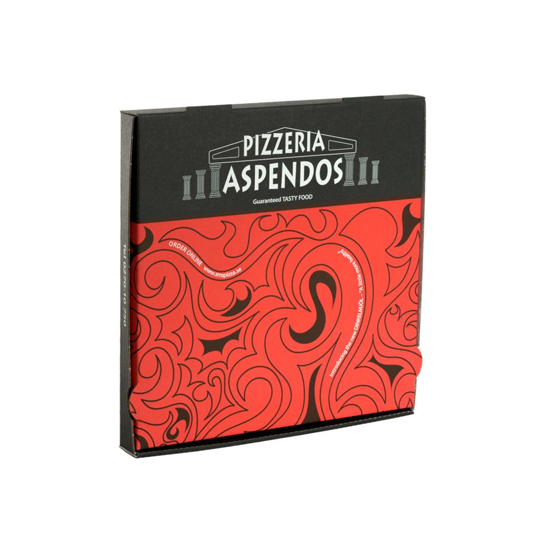 Scatola per Pizza all'americana personalizzata modello Frank