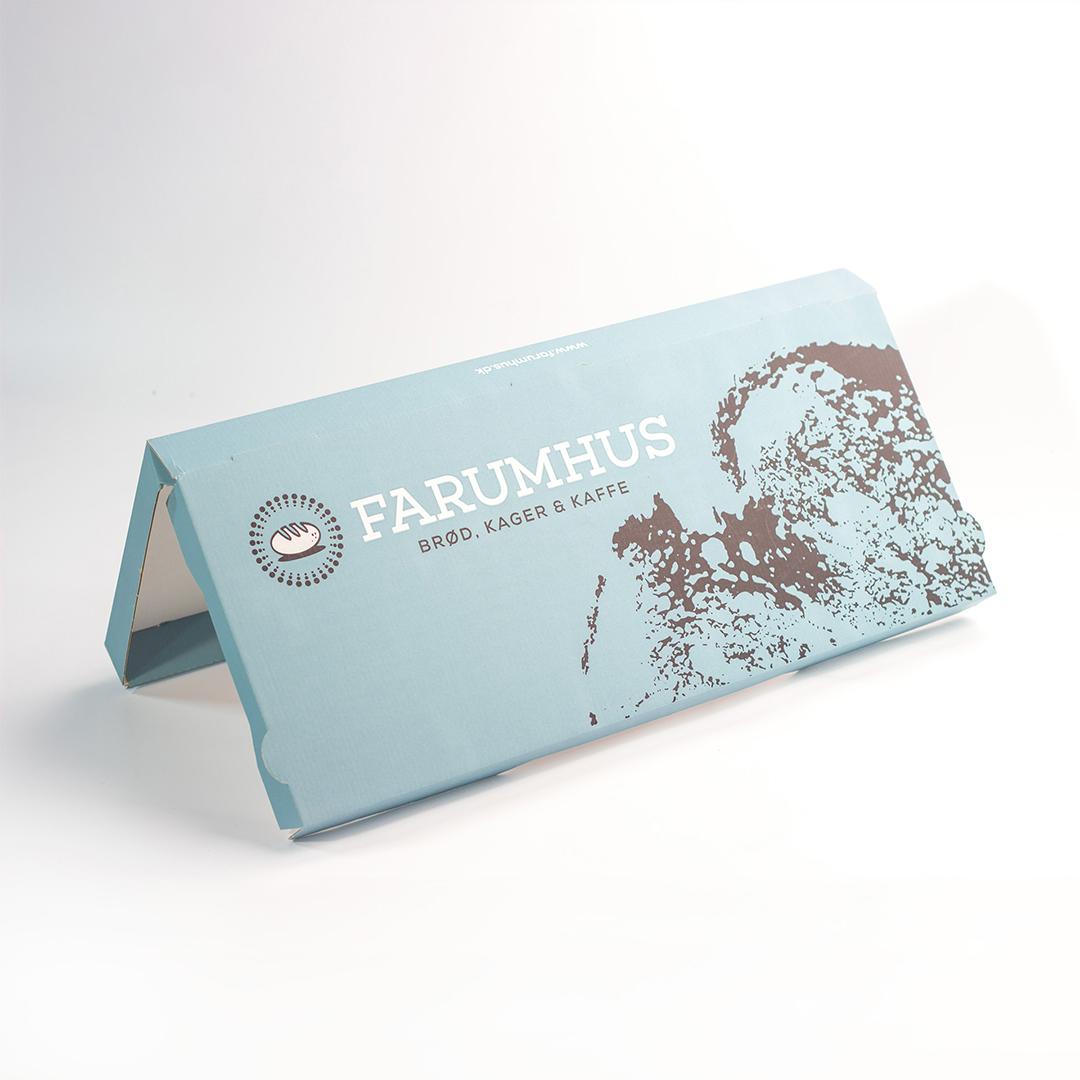 scatola fustellata personalizzata per alimenti