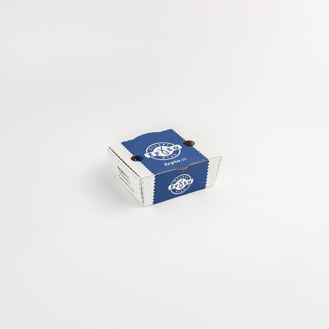 Piccola scatola fustellata per food truck