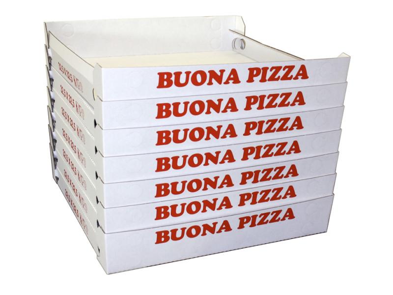 Scatole Impilabili per Pizza tipo Cubo